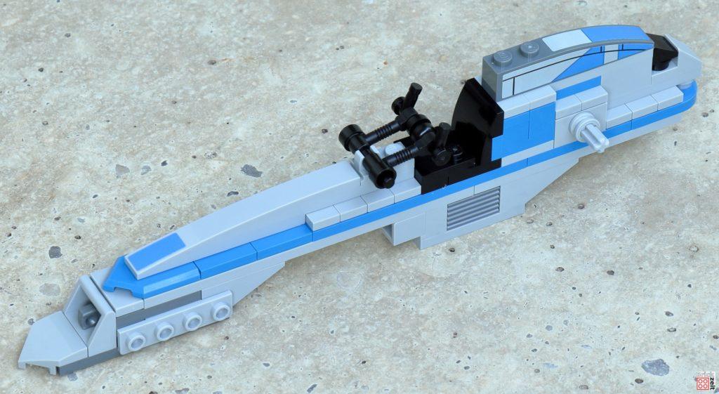 LEGO Star Wars 75280 - Aufbau BARC-Speeder 16 | ©2020 Brickzeit