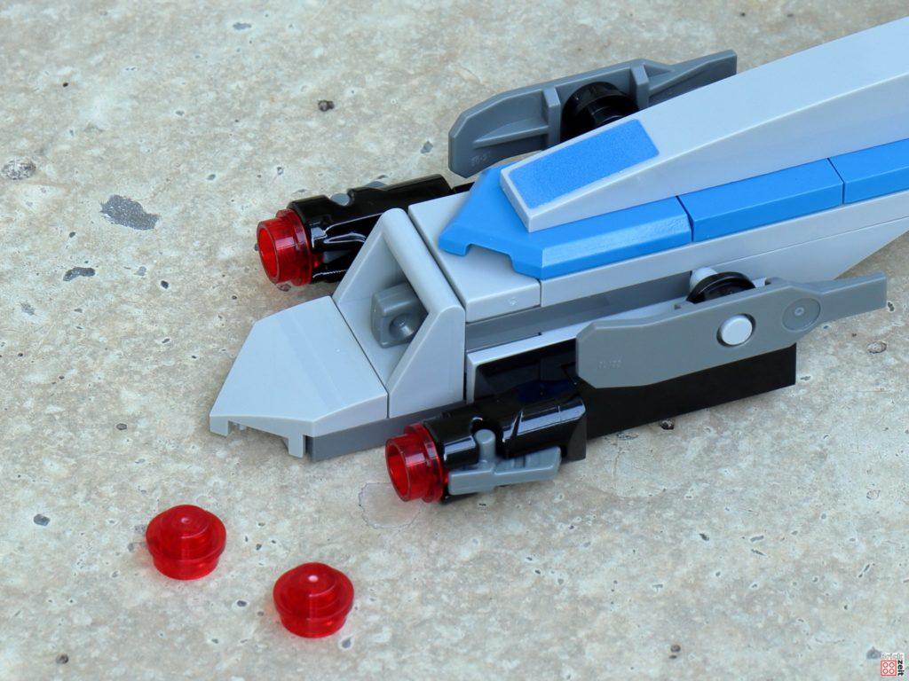 LEGO Star Wars 75280 - Aufbau BARC-Speeder 22 | ©2020 Brickzeit