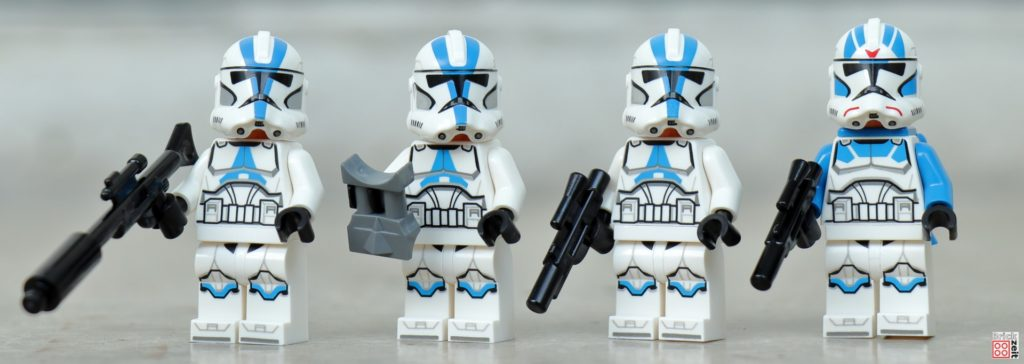 LEGO Star Wars 75280 501st Legion Clone Troopers | ©2020 Brickzeit