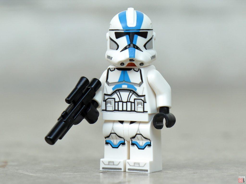 LEGO Star Wars 75280 501st Legion Clone Trooper mit Blaster | ©2020 Brickzeit