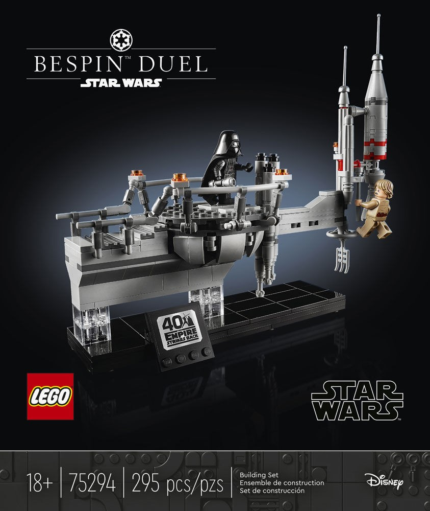 LEGO Star Wars 75294 Bespin Duel - Packung, Vorderseite | ©LEGO Gruppe
