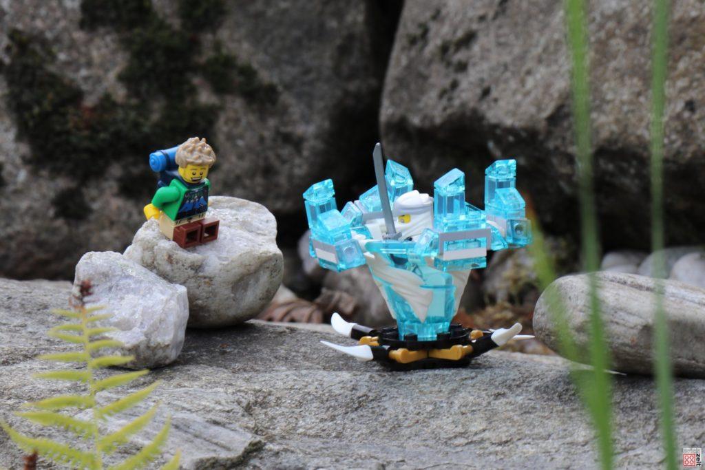 LEGO Wanderer trifft Zane | ©2020 Brickzeit