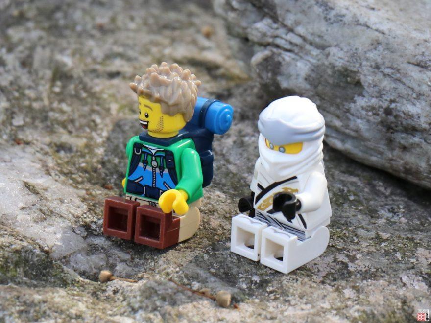 Der LEGO Wanderer und die Geheimnisse des Spinjitzu | ©2020 Brickzeit