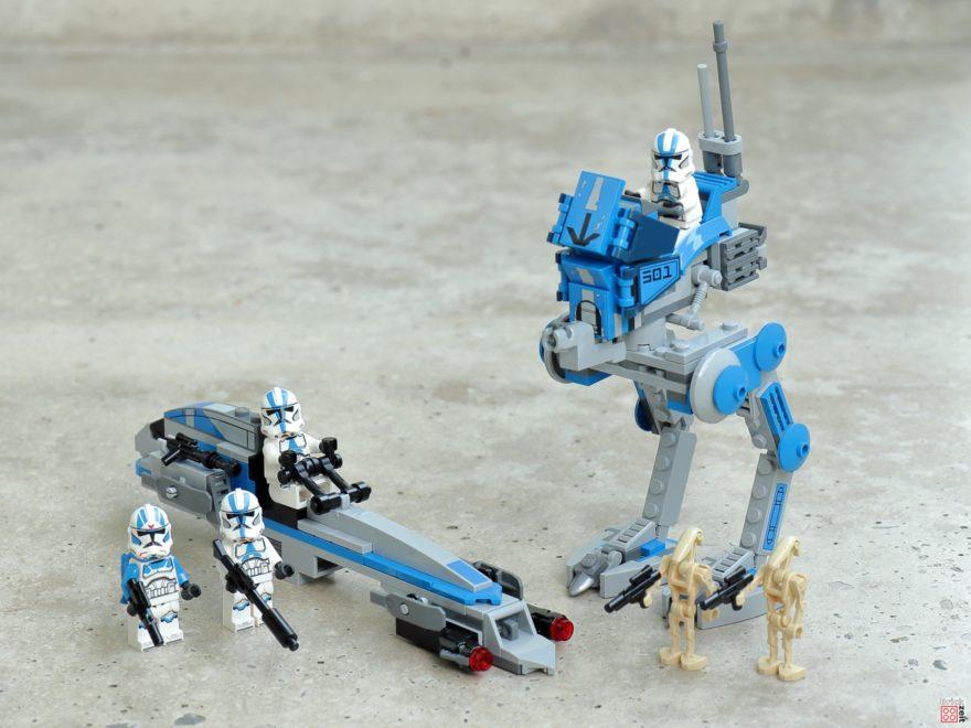 Review - LEGO Star Wars 75280 501st Legion Clone Troopers | ©2020 Brickzeit