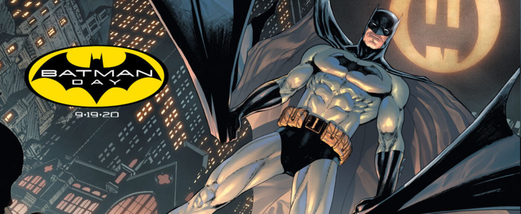 Batman Day 2020 - Ist das rechts-oben der LEGO Batwing? | ©DC Comics
