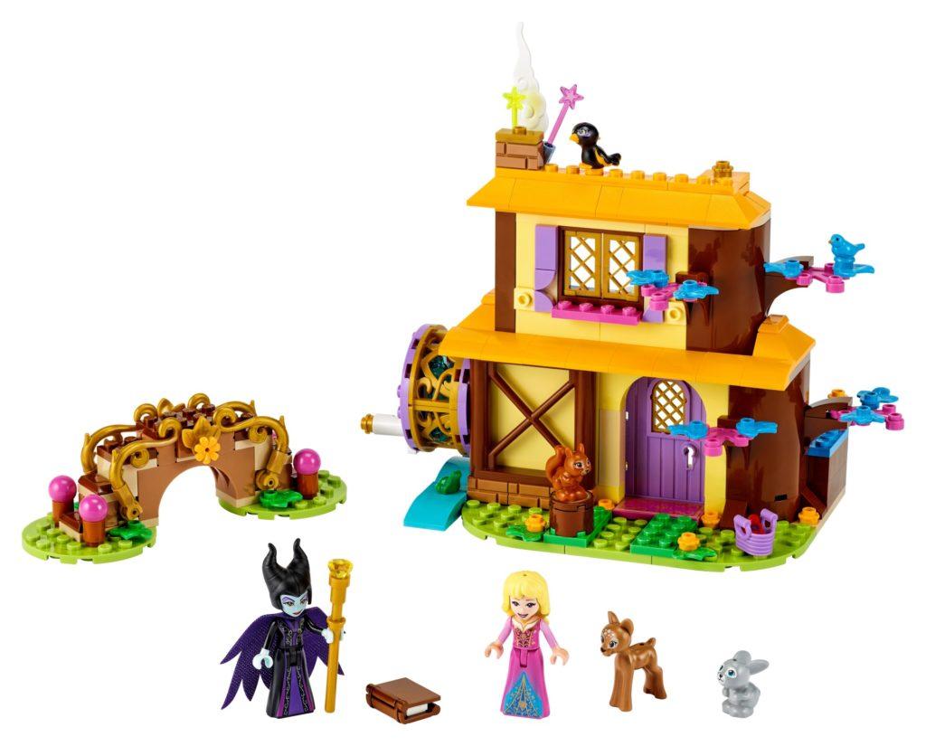 LEGO 43188 Auroras Hütte im Wald | ©LEGO Gruppe