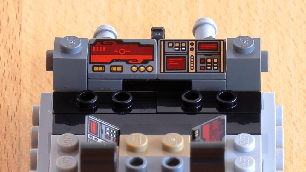 Eingebaute Cockpit-Armaturen | ©Brickzeit