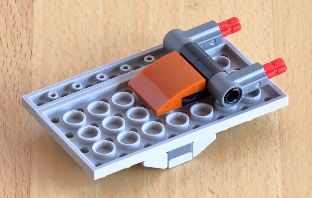 Befestigungspunkte für Dachplatte | ©Brickzeit