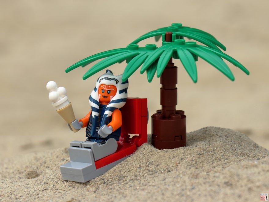 Ein Tag am Strand mit LEGO Ahsoka und der 501. Legion | ©Brickzeit