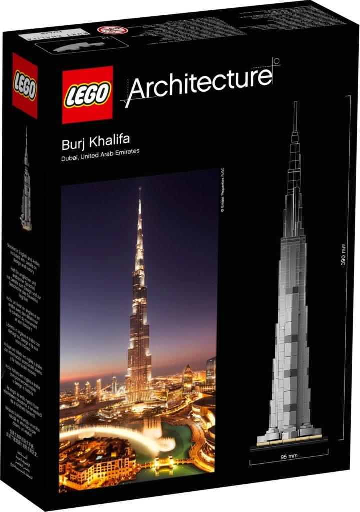 LEGO Architecture 21055 Burj Khalifa | ©LEGO Gruppe