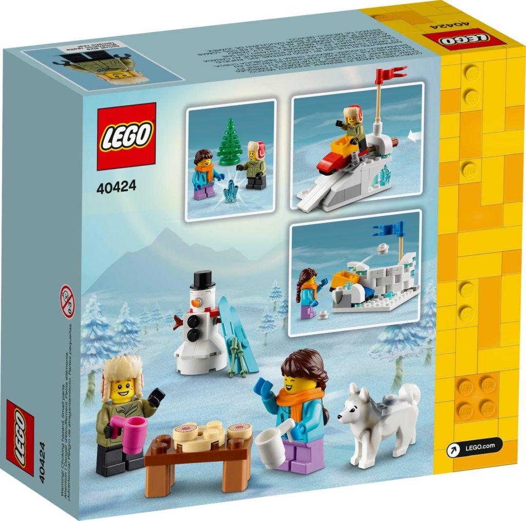 LEGO 40424 Schneeballschlacht | ©LEGO Gruppe