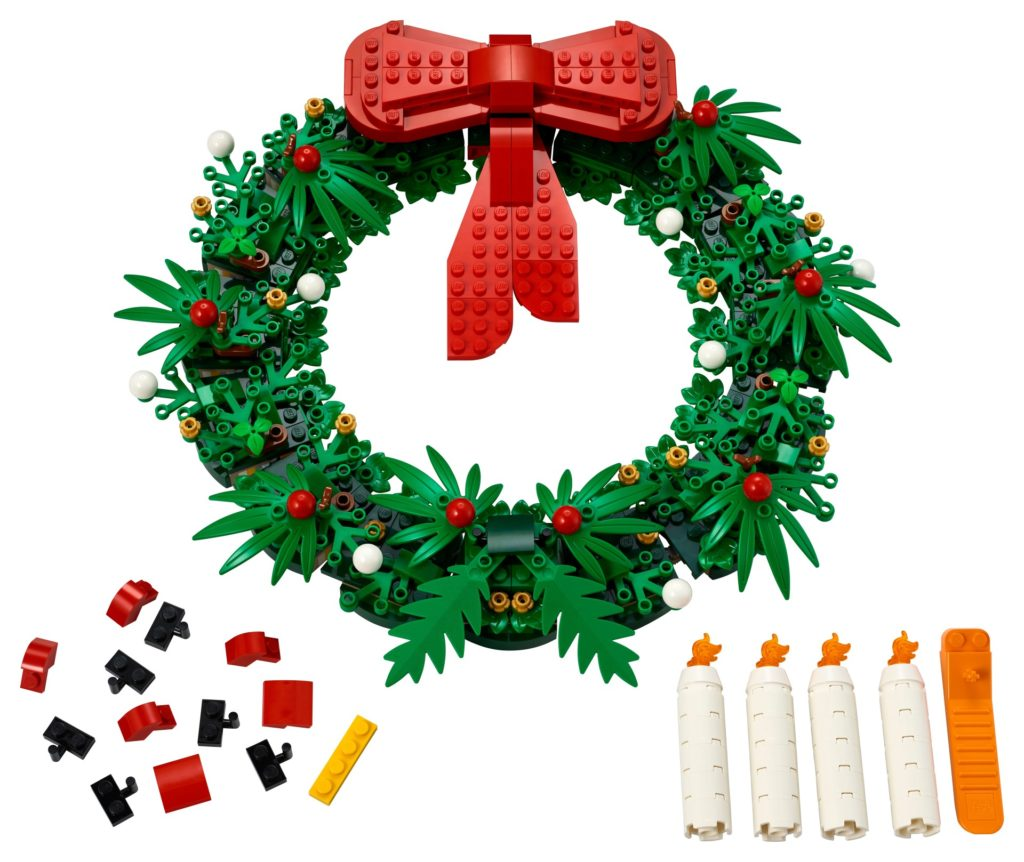 LEGO Seasonal 40426 2-in-1-Adventskranz | ©LEGO Gruppe