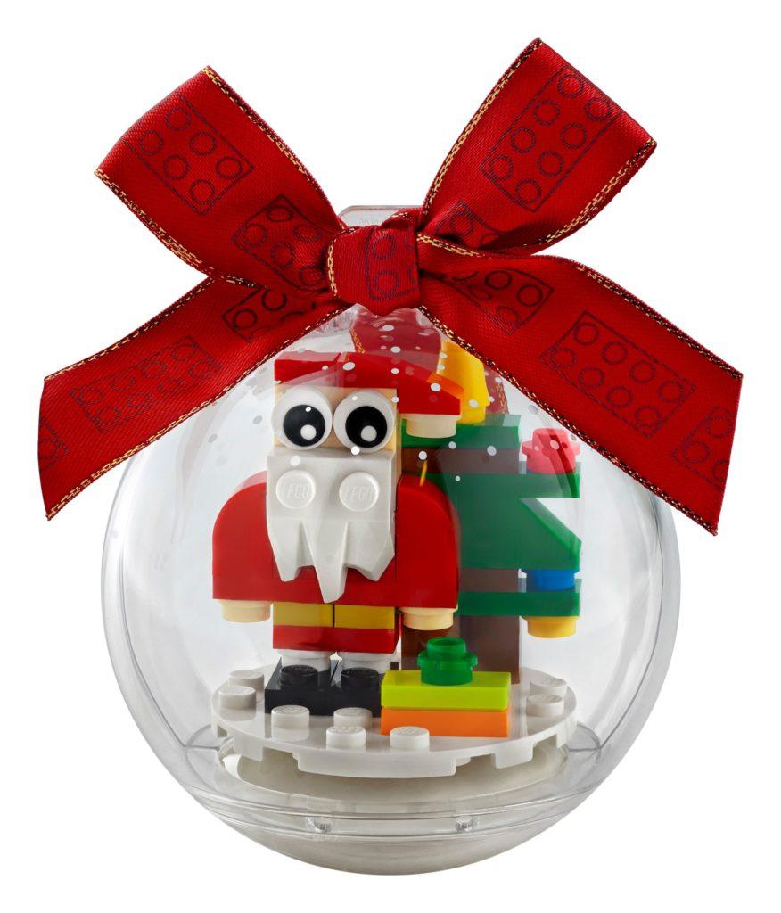 LEGO Seasonal 854037 Christbaumkugel mit Weihnachtsmann | ©LEGO Gruppe