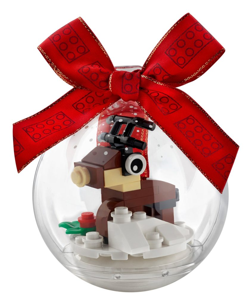 LEGO Seasonal 854038 Christbaumkugel mit Rentier | ©LEGO Gruppe