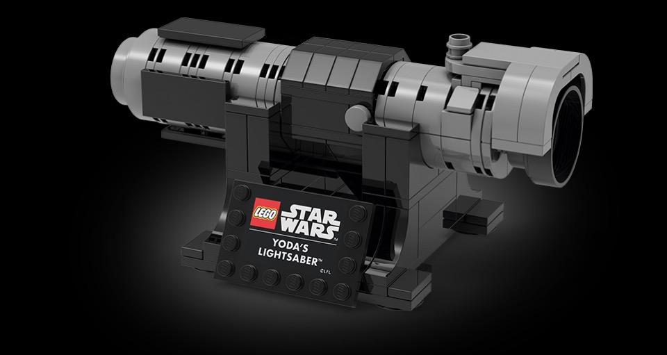 LEGO Star Wars 5006290 Yodas Lichtschwert | ©LEGO Gruppe