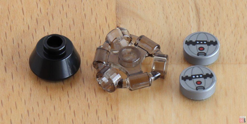 LEGO 75288 - Bauabschnitt 1, spezielle Teile | ©Brickzeit