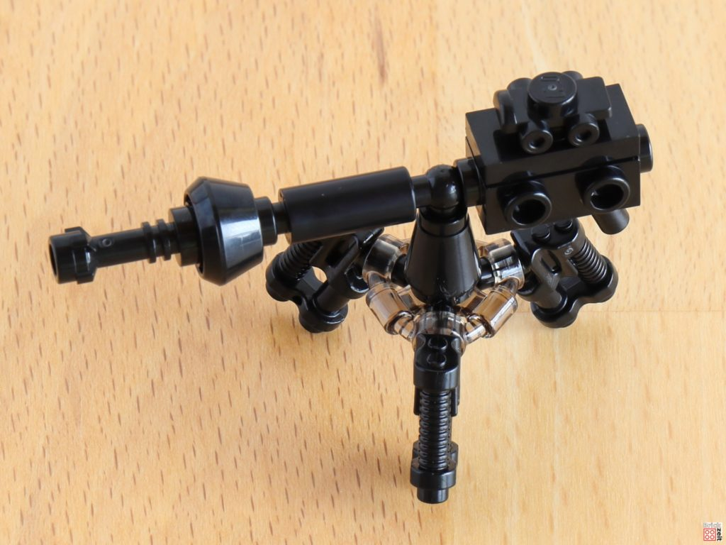 LEGO 75288 - Bauabschnitt 1, fertige E-Netz-Blasterkanone | ©Brickzeit