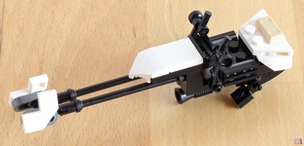 LEGO 75288 - Bauabschnitt 1, fertiger Speeder | ©Brickzeit
