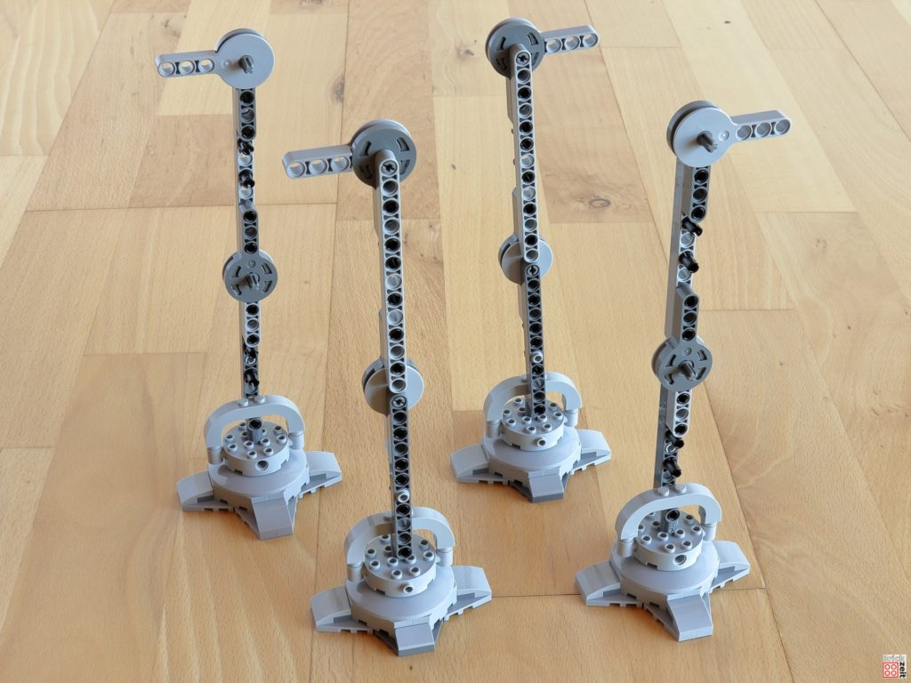 Alle vier Beine sind identisch | ©Brickzeit