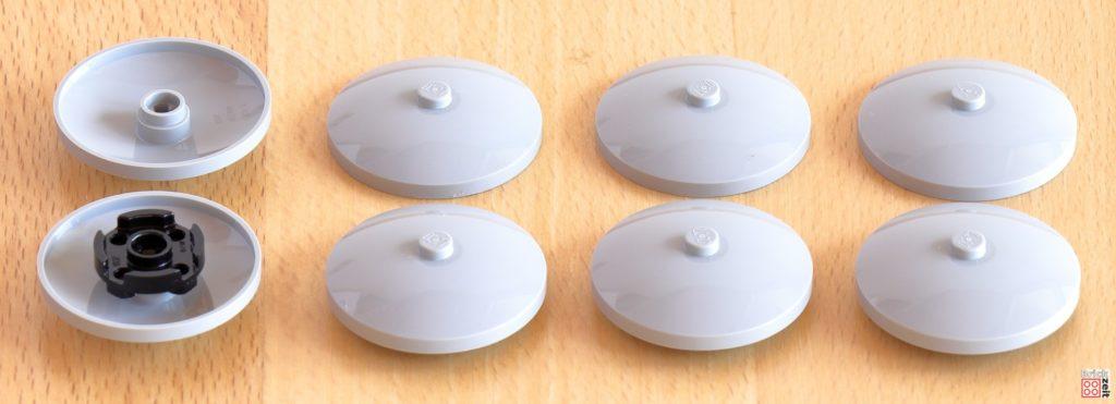 Schüsseln an Hüfte und Knien | ©Brickzeit