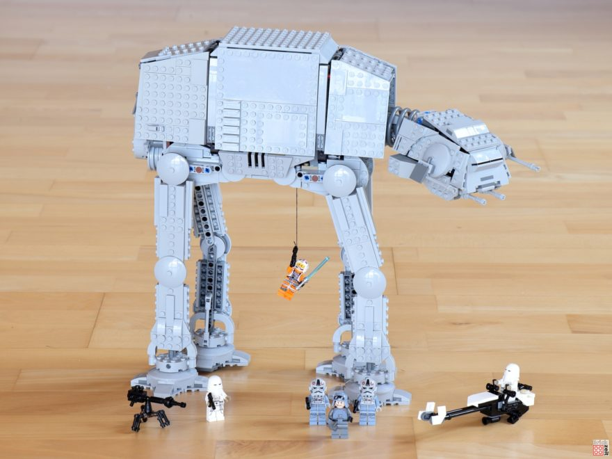 Review - LEGO Star Wars 75288 AT-AT | ©Brickzeit