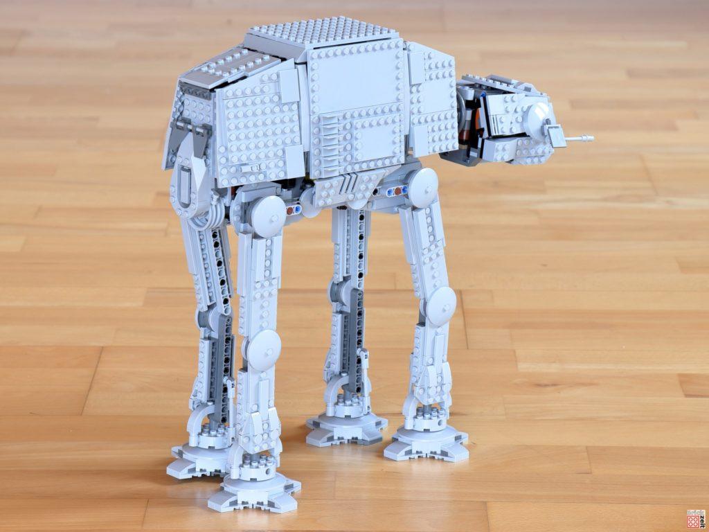 LEGO Star Wars 75288 AT-AT, rechts hinten | ©Brickzeit