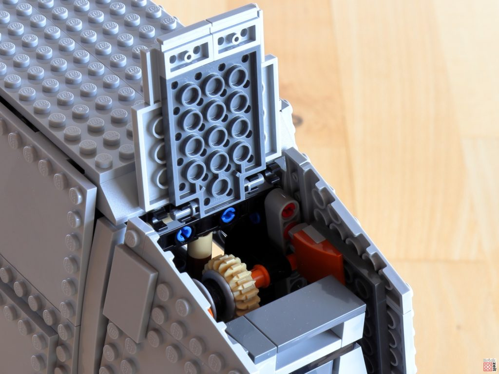 Mechanismus für Seilzug | ©Brickzeit