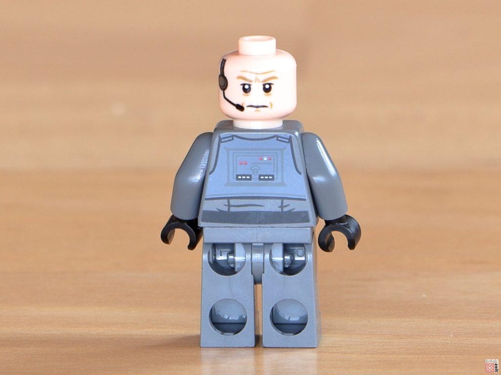Rückseite von LEGO General Veers ohne Helm | ©Brickzeit
