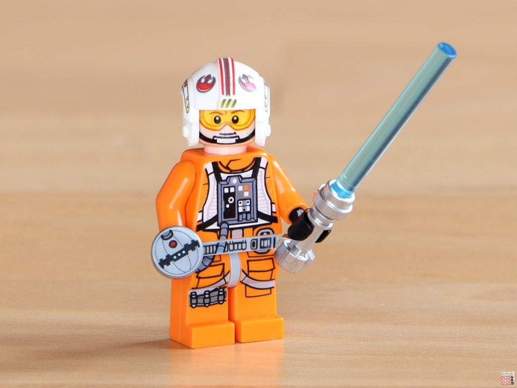 LEGO 75288 Luke Skywalker im Piloten-Outfit mit Lichtschwert und Thermaldetonator | ©Brickzeit