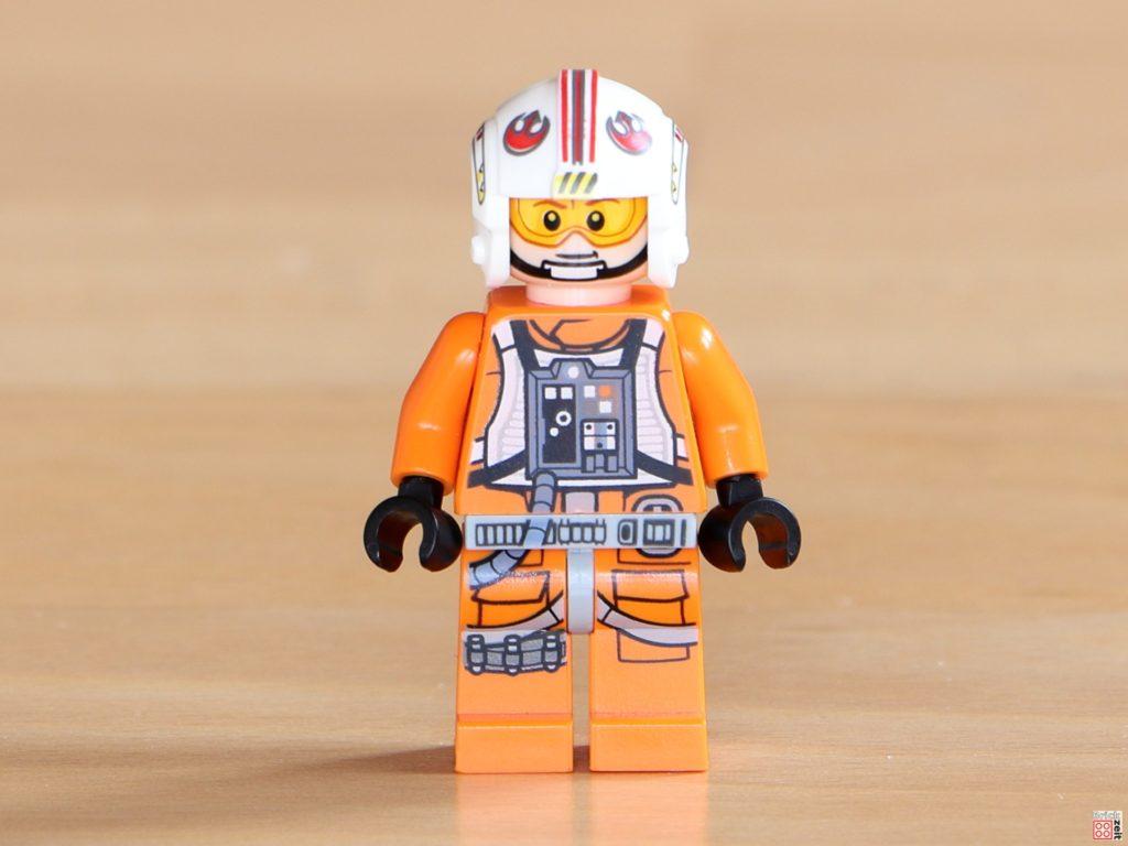 Vorderseite LEGO Luke Skywalker im Piloten-Outfit | ©Brickzeit