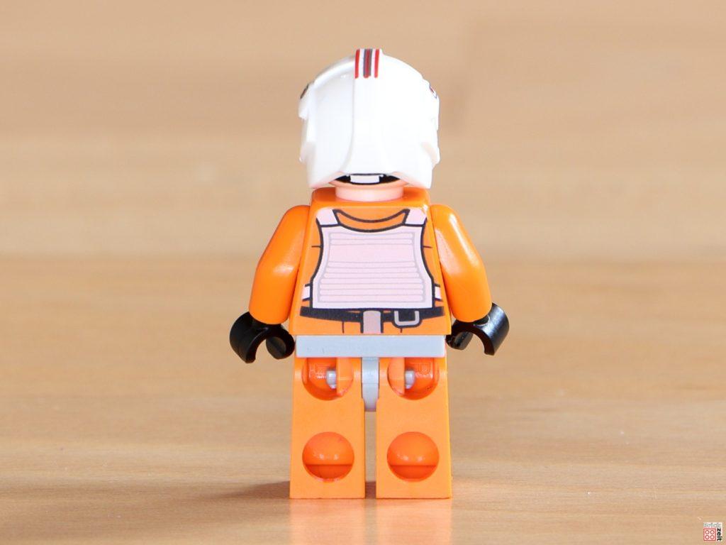 Rückseite von LEGO Luke Skywalker im Piloten-Outfit | ©Brickzeit