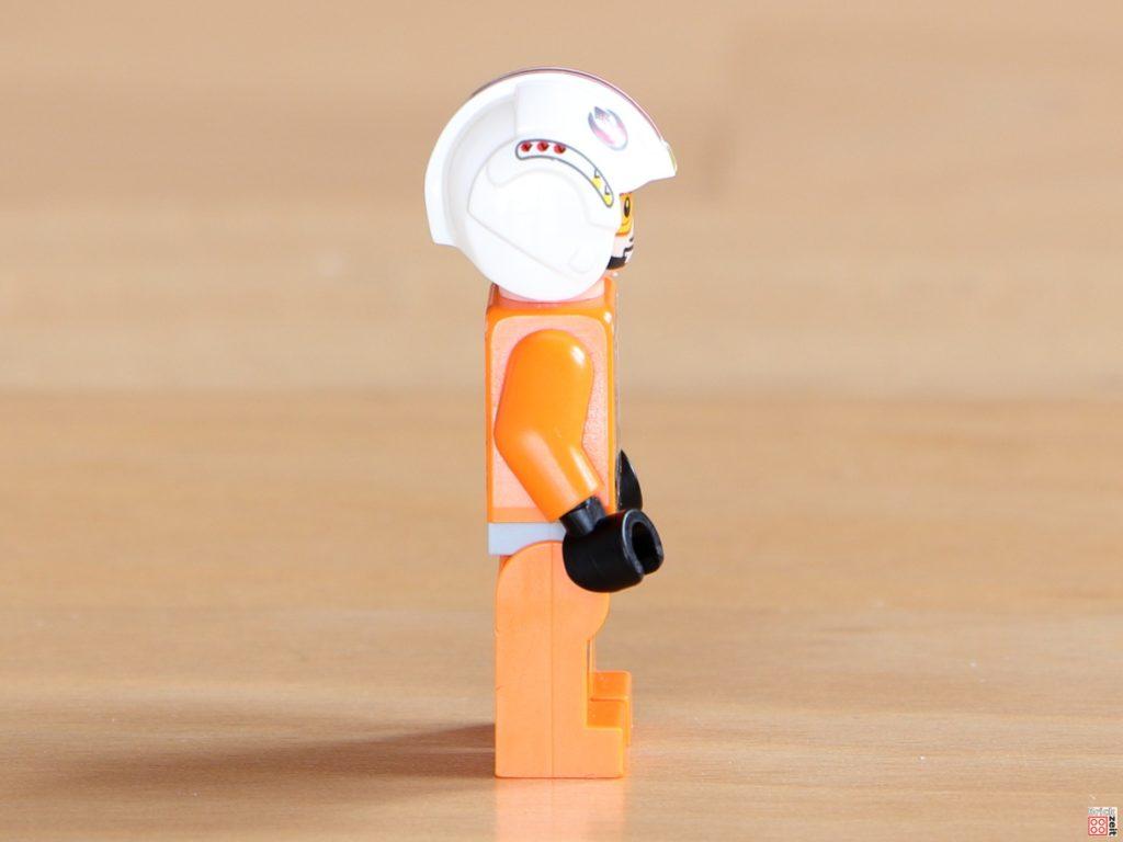 Rechte Seite von LEGO Luke Skywalker im Piloten-Outfit | ©Brickzeit