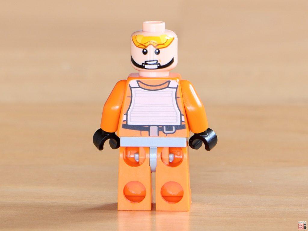Rückseite von LEGO Luke Skywalker ohne Helm | ©Brickzeit