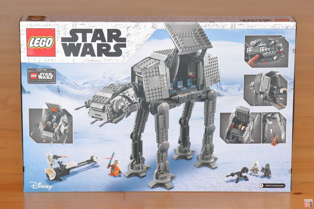 LEGO Star Wars 75288 AT-AT - Packung Rückseite | ©Brickzeit