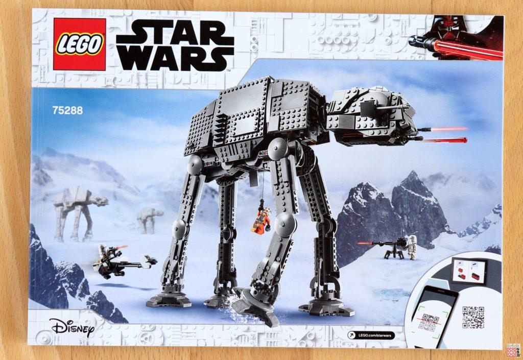 Bauanleitung für den LEGO Star Wars 75288 AT-AT | ©Brickzeit