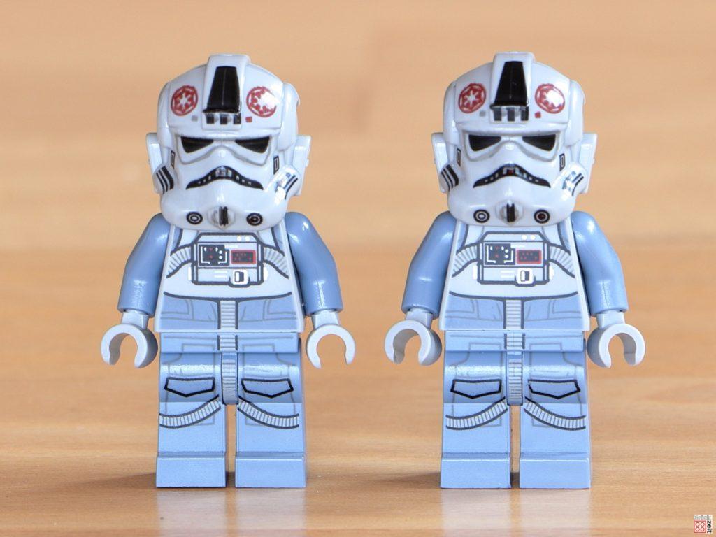 Vorderseite LEGO 75288 AT-AT Piloten | ©Brickzeit