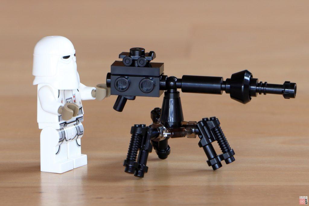 LEGO 75288 Snowtrooper mit E-Netz-Blasterkanone | ©Brickzeit