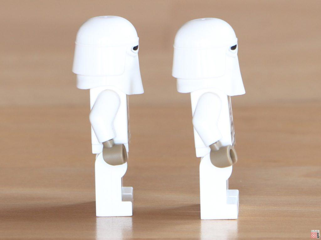 Rechte Seite der LEGO Snowtrooper | ©Brickzeit