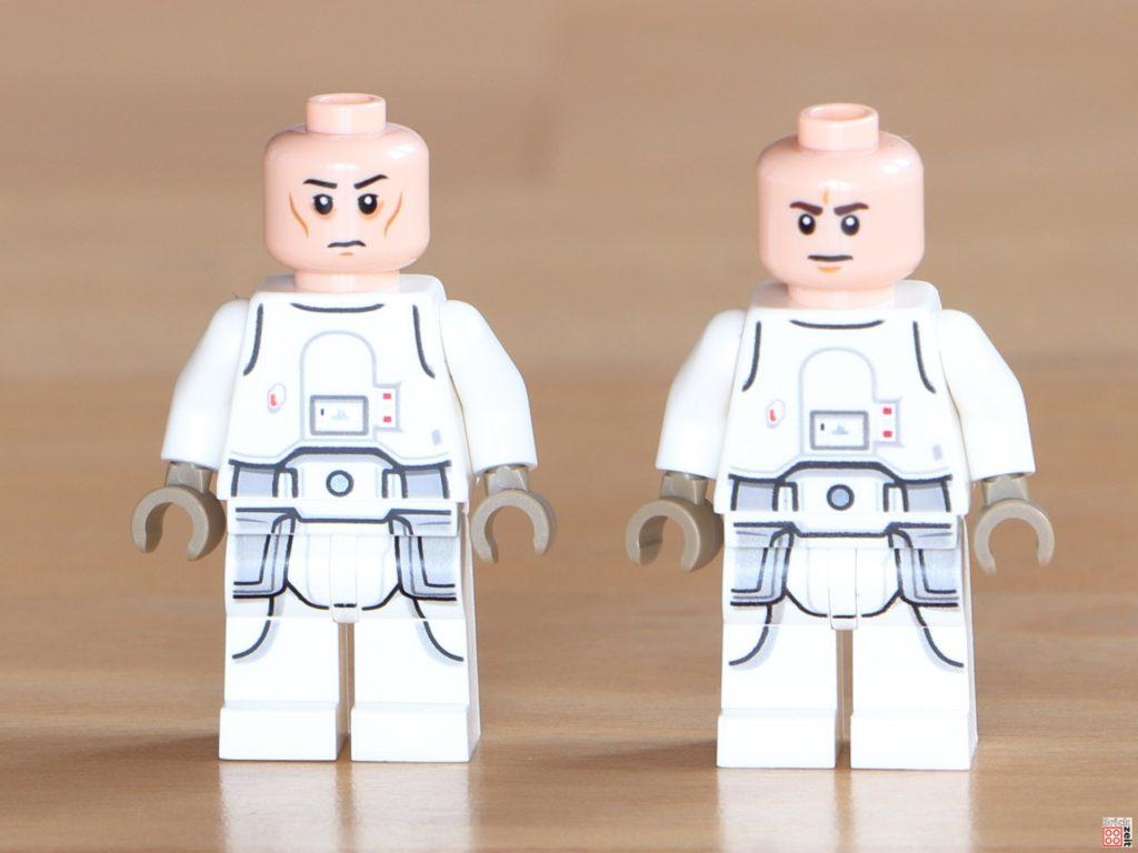 LEGO Snowtrooper mit unterschiedlichen Gesichtern | ©Brickzeit