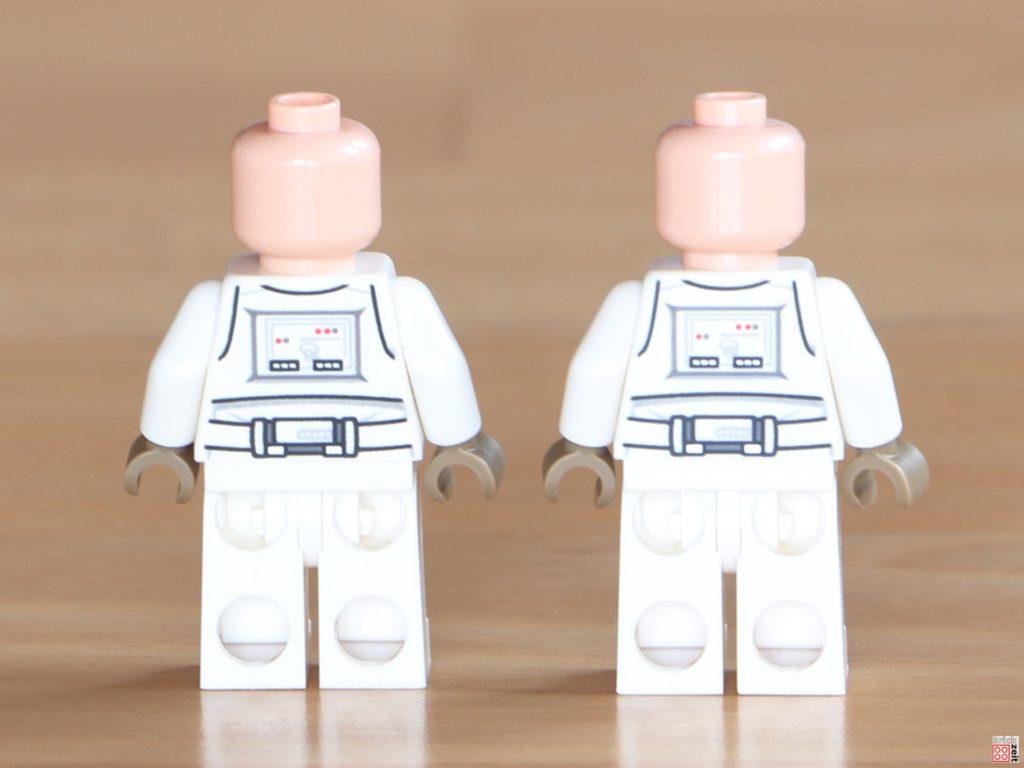 LEGO Snowtrooper ohne Helm, Rückseite | ©Brickzeit