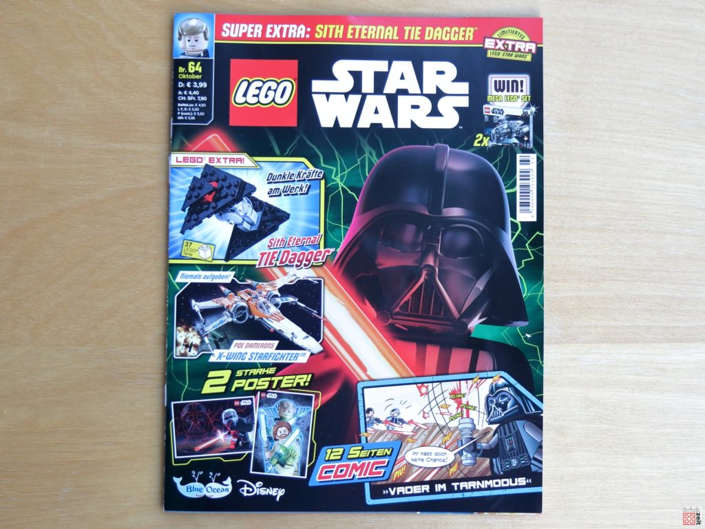 LEGO Star Wars Magazin Nr 64 - Cover | ©Brickzeit