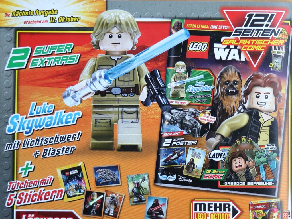 Bespin Luke Skywalker im LEGO Star Wars Magazin Nr 65 | ©Brickzeit