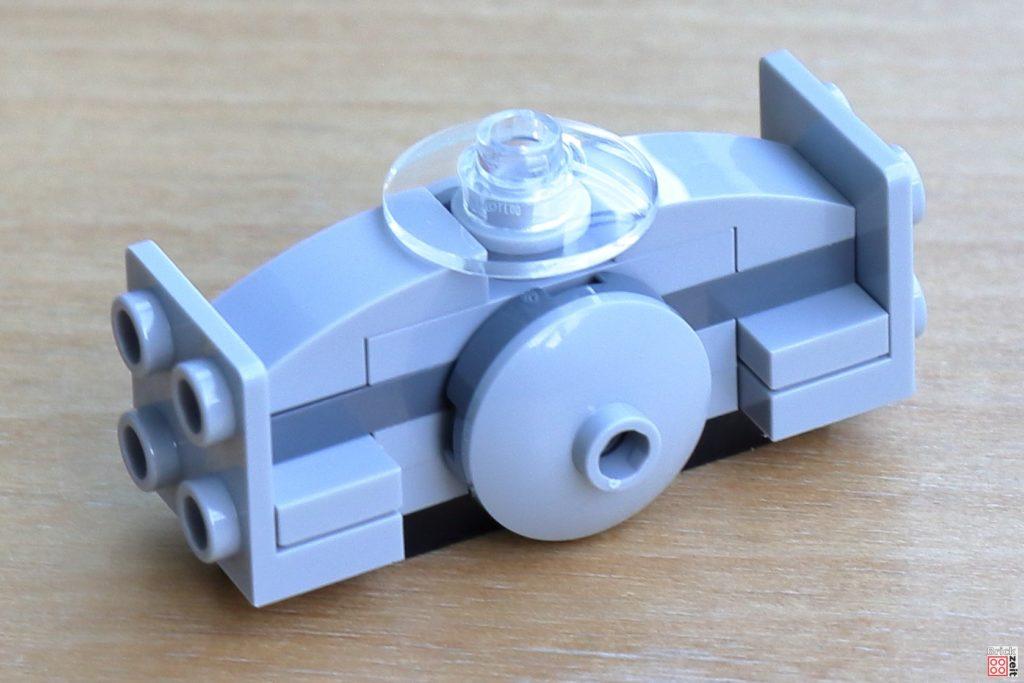 LEGO Sith Eternal TIE Dagger, Bau | ©Brickzeit