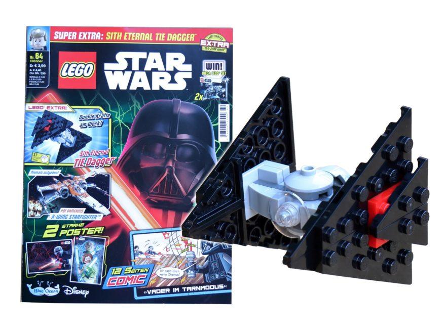 LEGO Star Wars Magazin Nr 64 - Titelbild | ©Brickzeit