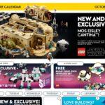 LEGO Store Kalender USA 10.2020 - Titelbild | ©LEGO Gruppe