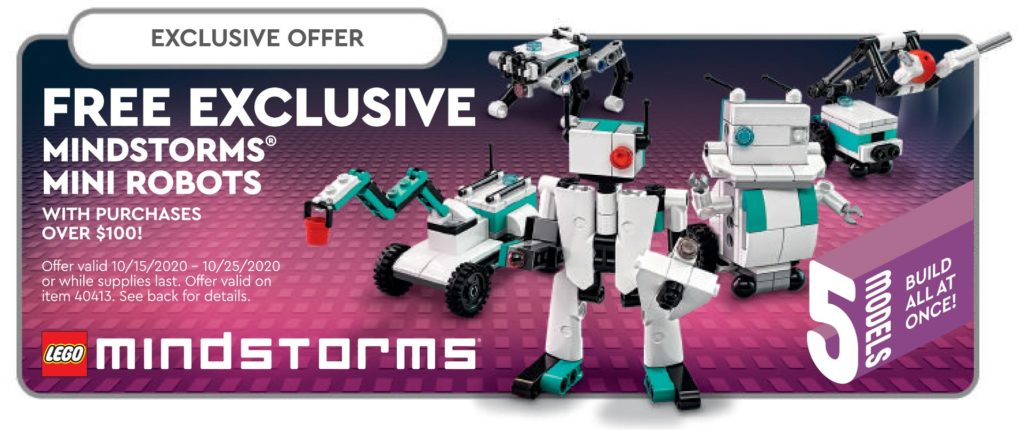LEGO 40413 Exclusive Mindstorms® Mini Robots | ©LEGO Gruppe