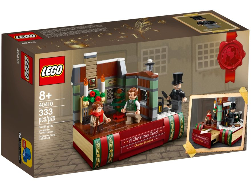 LEGO 40410 Hommage an Charles Dickens - Titelbild | ©LEGO Gruppe