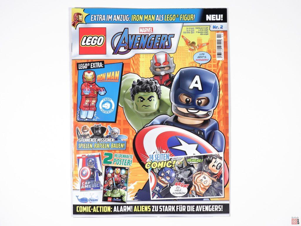 LEGO Marvel Avengers Magazin Nr. 2 - Cover | ©Brickzeit