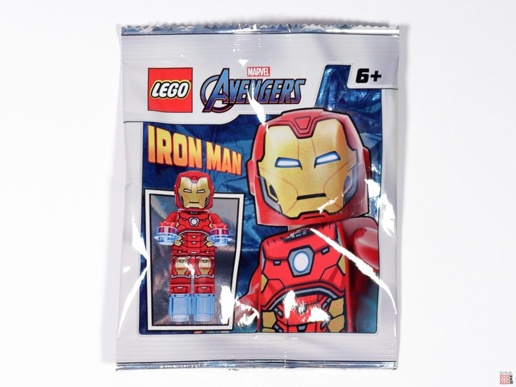 LEGO Iron Man Minifigur Polybag, Item-Nr. 242002 | ©Brickzeit