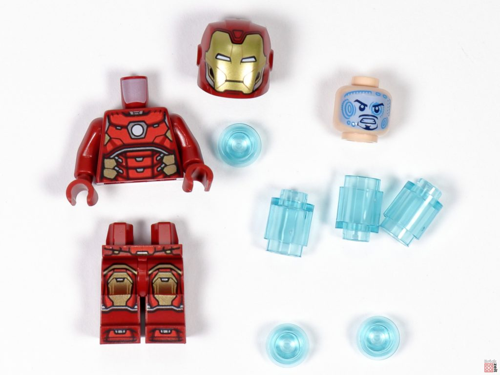 LEGO Iron Man Minifigur Polybag-Einzelteile | ©Brickzeit